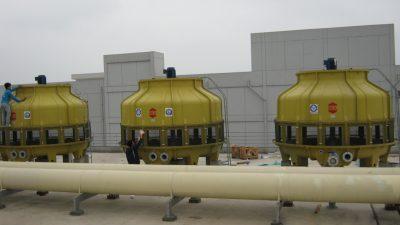 Hệ thống tháp làm mát công nghiệp
